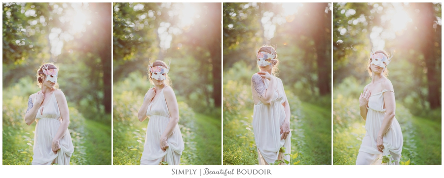 Fine Art Boudoir_Mask Boudoir_Outdoor Boudoir_Collectively Kylene 3
